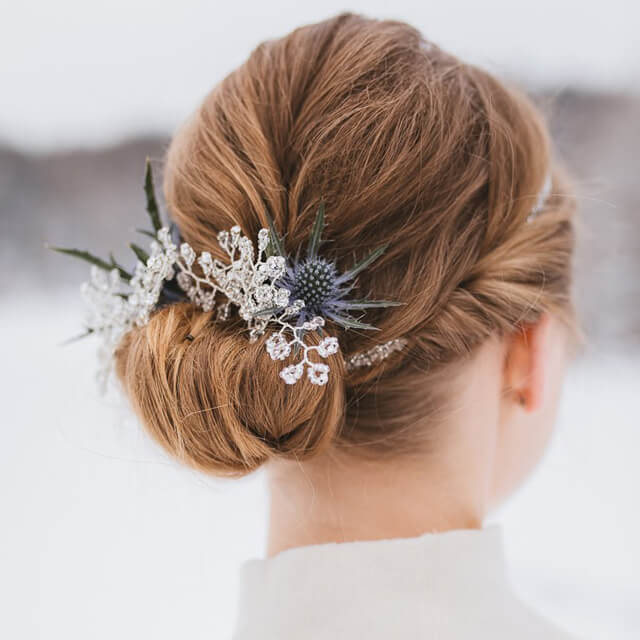(7) Braut Haarschmuck Set #2