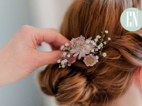 Real flowers as hair accessories?